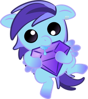Baby Amethyst - Commission by TeasIe