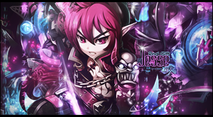 Grand Chase Sig - Jesse Gift by RodTheSecond