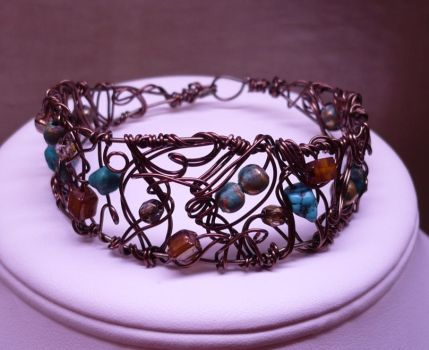 Corroded Dreams Bracelet by shadowling