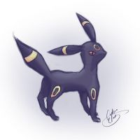 The Attitude ~ Umbreon by NAD-LifeOfficial