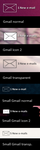 Gmail skin for Rainmeter by maxvanijsselmuiden