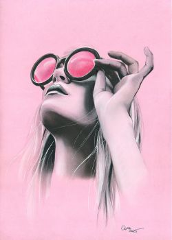 Through the pink glasses by Cora-Tiana