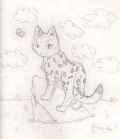 Left Hand-Snow Leopard Chibi by Fang-Chan13
