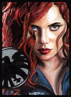 BLACK WIDOW by S-von-P