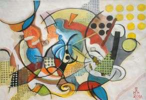 Composition Seven by Maurice-Le-Coq