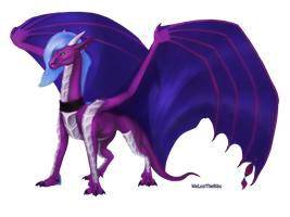 Commission Lavender by WeLostTheRibs