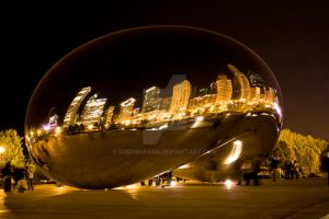 Chicago Bean by CodyMWard