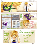 Miraculous Ladybug comic Pag 1 by TheGirlOfFate