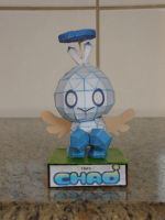 Hero Chao papercraft by augustelos