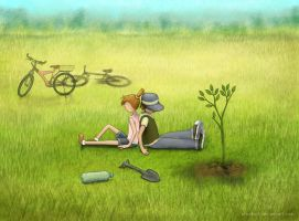 Take care of nature by nino4art