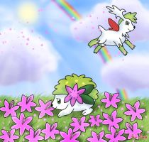 Shaymin's Garden by Rose-Beuty
