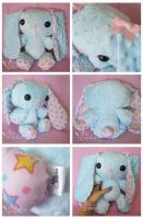 Pastel Stars PatterBunny by ChibiWorks