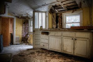 In the Kitchen by cassaw-creative