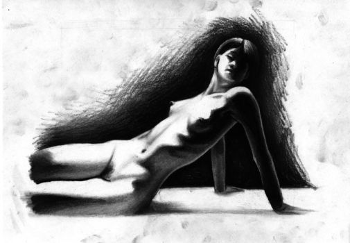 Charcoal Nude by Regius