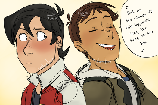 Klance - ''Song of the Sea'' by KylerInvention