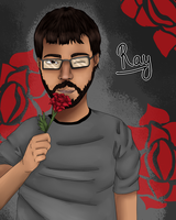 Achievement Hunter Ray by kizzilicious123