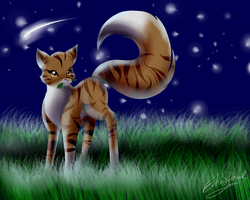 .:Fanart~Leafpool:. by Echoflood