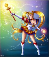 Sailor Moon by Candra