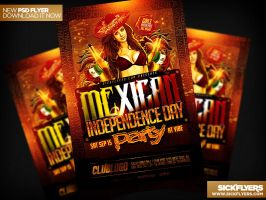 Mexican Independence Day Flyer by Industrykidz