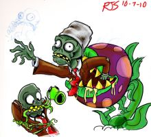 ZaD 6- Plants Vs Zombies by ronnieraccoon