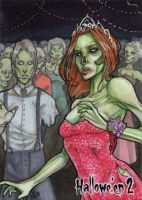 Hallowe'en 2 Sketch Card - Gabrielle Bruer 2 by Pernastudios