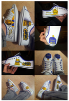 Doctor Who Shoes by wazzit2you