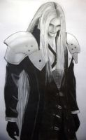 Sephiroth - Final Fantasy 7 by PolishPsycho