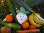 Vegetable papercraft by TimBauer92