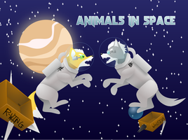Animals in Space by TheGreatHushpuppy