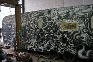 wohnzilla airbrush project... in progress... by graynd