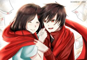 Shintaro X Ayano by shironeko--chan