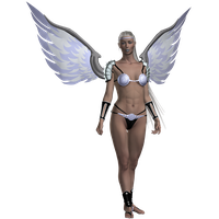 NeoAngel Platinum by SilkaLiveDoll