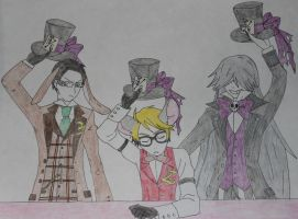 Ciel in Wonderland drawing by Sweetgirl333