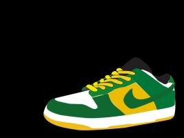Nike SB bucks vector wallpaper by khenglim89