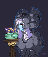 A Dullahan Birthday by w-oo-t