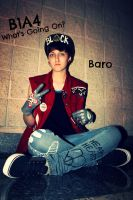 B1A4 Baro Cosplay by SammyTheNekokid