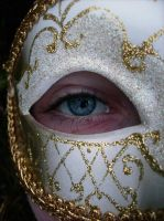 Eye and Mask by music-lover-stock