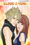 Cloud and Yumi Poster by ladylucienne