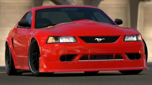 2000 Ford Mustang SVT Cobra R (Gran Turismo 6) by Vertualissimo