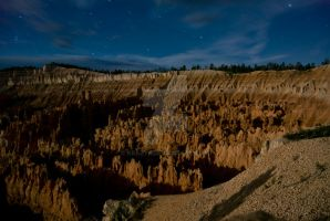 Moonlight Over Bryce 6 by krazy3