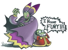 Cackletta and Fawful by EmperorAtma