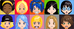 Digimon Academy Cast by SulfuricAcid