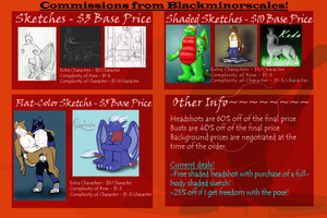 Commission Prices With Special Offers by blackminorscales