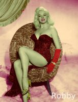 British movie queen Diana Dors by Robsiej