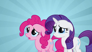 Pinkie Pie and Rarity crying by SdKfz186Jagdtiger