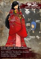 SDL: Yuki-Hime by Sketchfighter316