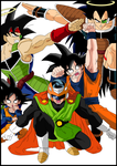 The Sayan Force Color by Matizzel