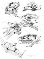 Sketches of Ships by FutureElements