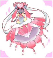 Diancie (MEGA) by MagicalChan