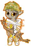 Fraellon Chibi by Sylvari-Salad